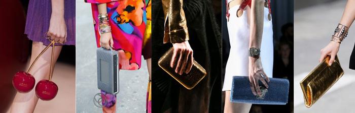 Модные и светские клатчи