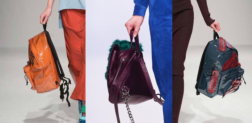 Модные женские рюкзаки нового сезона осень-зима 2015/16