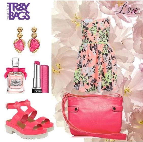 Летний модный look 2015 с женской сумкой ISLA от Trendy Bags. Артикул: B00633