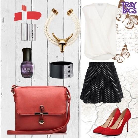Женская небольшая и недорогая сумочка CROCUS на каждый день.