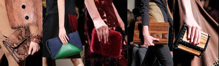 Модные женские клатчи сезона Очень-зима 2015/16 от Trendy Bags