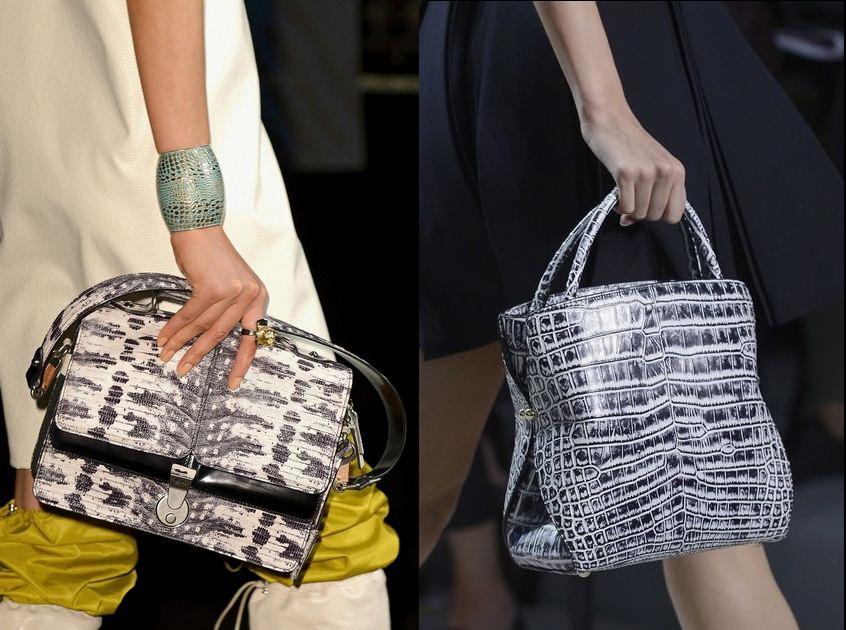 Женские сумки из кожи крокодила и рептилий. Tote bags Сумки оптом