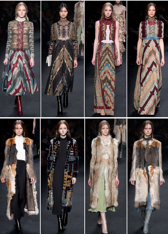 Платья и шубы от модного дома моды Valentino