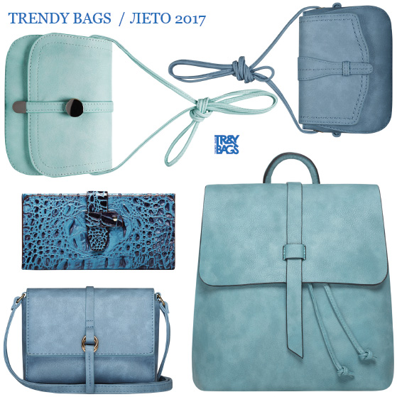 Женские сумки оптом голубого цвета