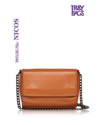 Женская сумка кросс-боди из натуральной кожи NICOS