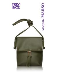 Женская сумка кросс-боди из экокожи MARSO