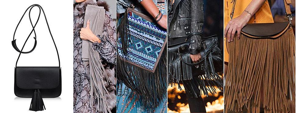 Модные женские сумки с бахромой оптом 2016 от Trendy Bags