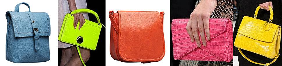 Модные яркие женские сумки 2016 оптом