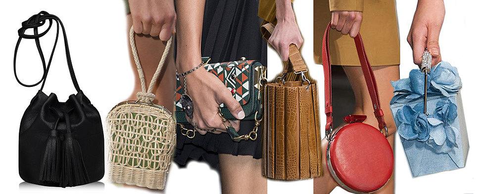Женские сумки оптом. Миниатюрные сумочки в коллекции весна-лето 2016. Trendy Bags