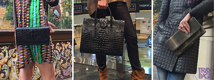 Женские сумки под крокодила оптом от Trendy Bags