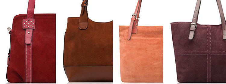 Женские сумки из замши оптом от Trendy Bags