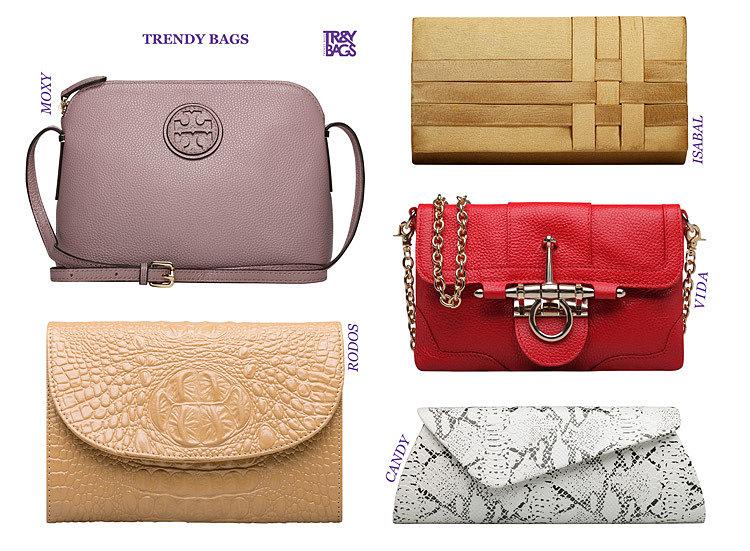 Женские клатчи от TRENDY BAGS